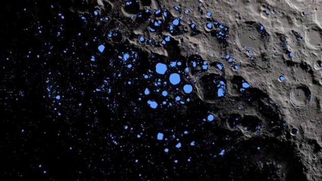 La sonda LRO 'arroja luz' sobre el lado oscuro de la Luna