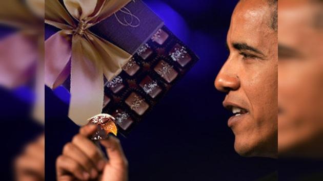 Las golosinas preferidas de Obama causan furor en Europa