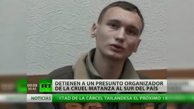 Arrestado un presunto organizador de la matanza de 12 personas en Krasnodar