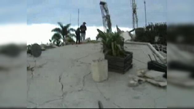 Aparecen imágenes únicas de un rescate en Haití