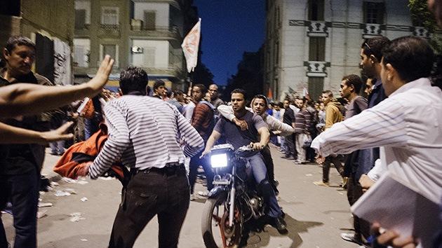 Fotos: Choques en El Cairo dejan decenas de heridos