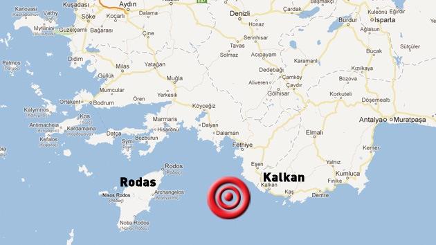 Un sismo de 5,6 grados sacude el suroeste de Turquía