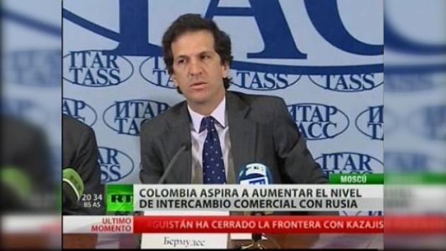 Colombia considera necesario aumentar la cooperación con Rusia