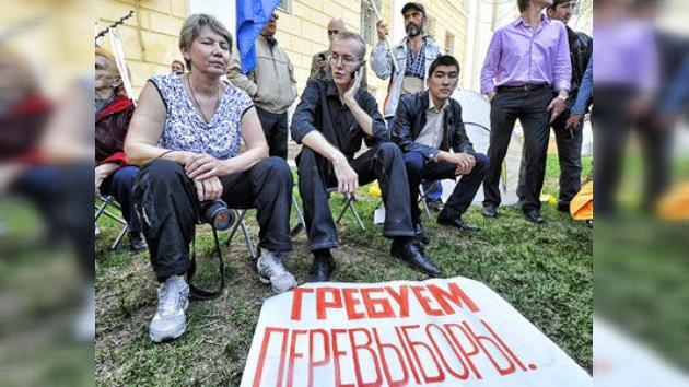 """Putin ve """"raro"""" que un candidato se declare en huelga de hambre y no recurra a la Justicia"""