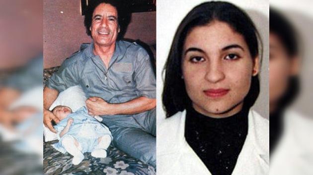 La hija adoptiva de Gaddafi, considerada muerta desde hace años, podría estar sana y salva
