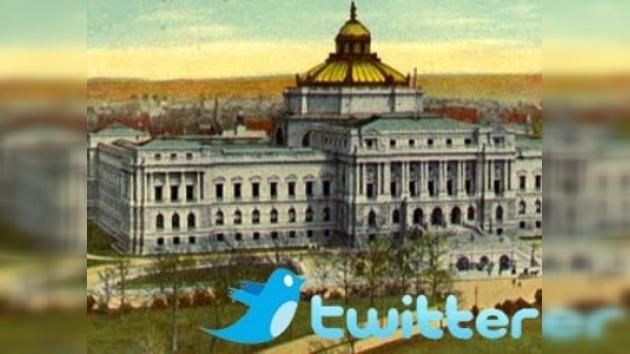 Los 'tweets' serán patrimonio cultural e histórico de futuras generaciones