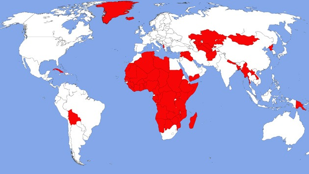 ¿Se puede vivir sin McDonald's? 105 países demuestran que sí