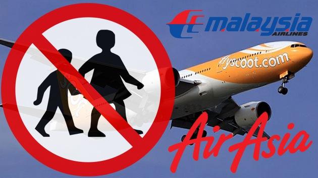 """Conozca las aerolíneas que """"discriminan"""" a los niños"""
