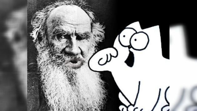 Karaoke de Tolstoi y Simon´s Cat en el Festival del Libro en Moscú