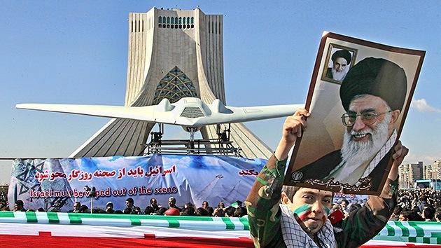 Las autoridades de Irán insisten en reproducir el drone de EE.UU. derribado por Teherán