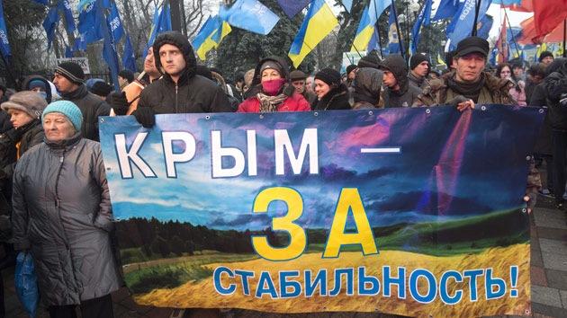 El referéndum sobre el estatus de Crimea se celebrará el 16 de marzo