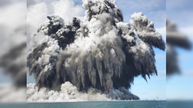 Los volcanes, posibles 'cunas' de la vida en la Tierra