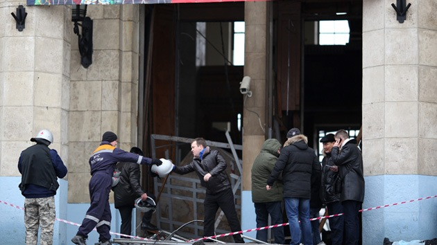 """Atentado en Volgogrado: """"Los cuerpos estaban cubriendo los escalones"""""""