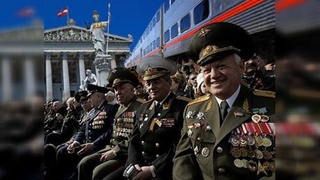 Llegan a Viena sus libertadores para conmemorar la victoria