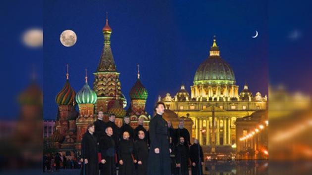 Ortodoxos rusos en el Vaticano