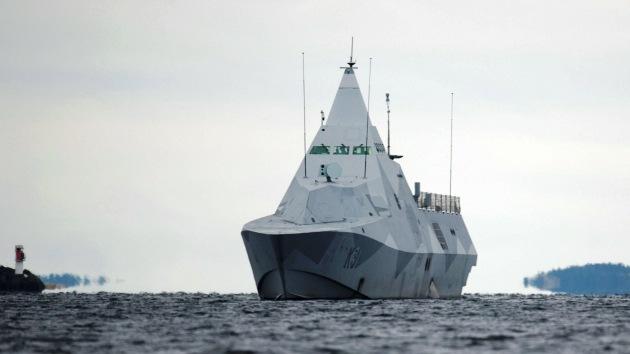 Suecia, dispuesta a usar la fuerza si detecta en sus aguas el submarino enigmático