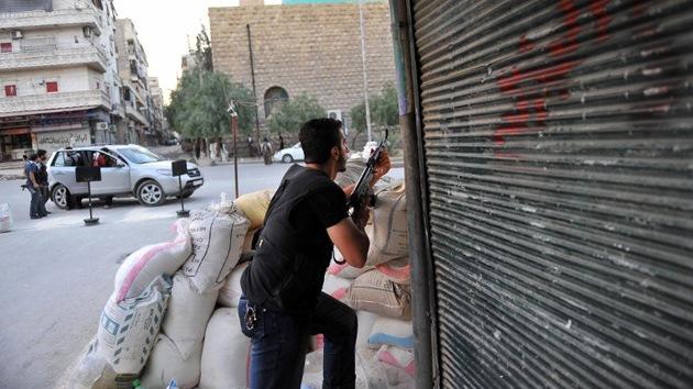 La Fuerzas Aéreas sirias bombardean Alepo: ¿otro montaje mediático?
