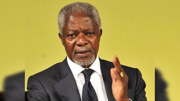 """Kofi Annan: la situación en Siria es """"inaceptable"""", aunque la violencia """"ha disminuido"""""""