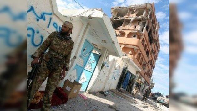 Las tropas gubernamentales toman Sirte, la ciudad natal de Gaddafi