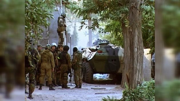 Ocho guerrilleros y dos policías rusos muertos en operación antiterrorista