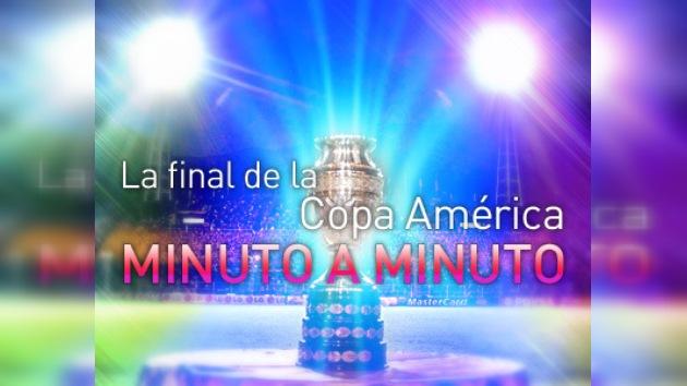 Minuto a minuto: la final de la Copa América, Uruguay vs. Paraguay