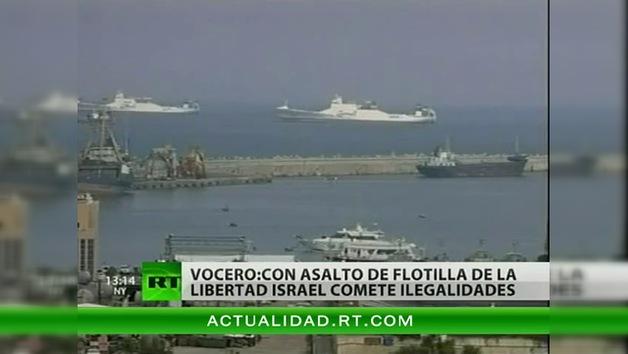 Israel ataca a un barco de la 'Flotilla de la Libertad' con destino a Palestina