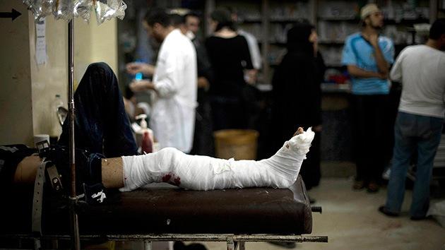 Decenas de muertos tras un ataque aéreo contra un hospital en Alepo