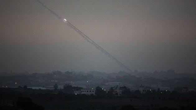 Seis proyectiles lanzados desde Gaza alcanzan Israel