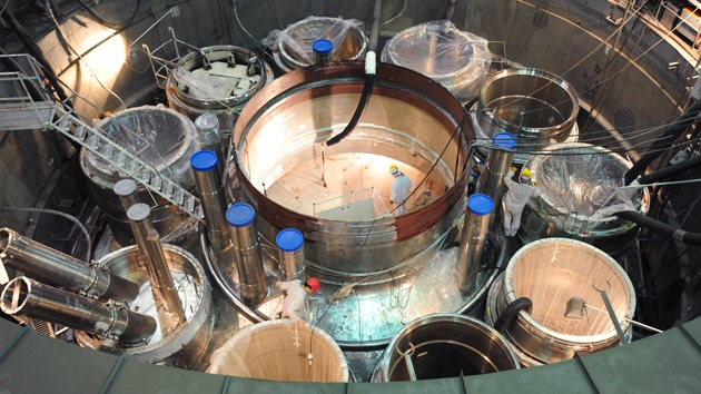 Rusia prepara un reactor nuclear moderno para una reacción en cadena controlada