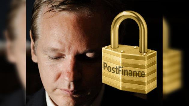 Cierran la cuenta bancaria de Julian Assange en Suiza
