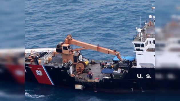 Recuperan más de 6 toneladas de cocaína del submarino hundido en aguas de Honduras