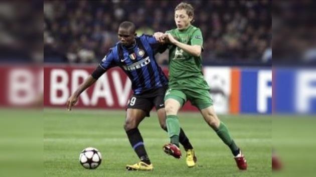 El Inter no deja que el Rubín pase a octavos de la Liga de Campeones