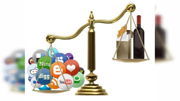Las redes sociales generan una adicción más fuerte que el alcohol y el tabaco