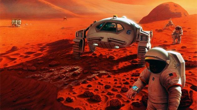 Dentro de 10 años ya se podrían cosechar las primeras verduras en Marte