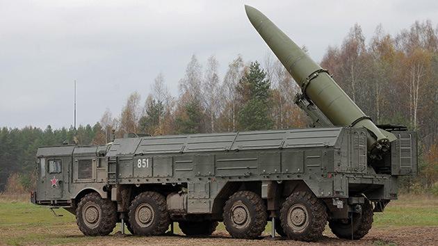 Rusia admite el despliegue de sistemas de misiles en el oeste del país
