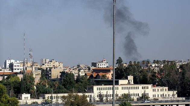 Un proyectil de mortero impacta en la Embajada del Vaticano en Damasco