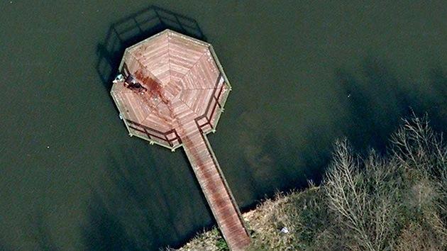 Las 'visiones' de Google Earth: ¿Crímenes, monstruos y fantasmas o juegos de la mente?
