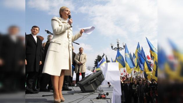 La oposición ucraniana protesta contra el acuerdo sobre la marina rusa