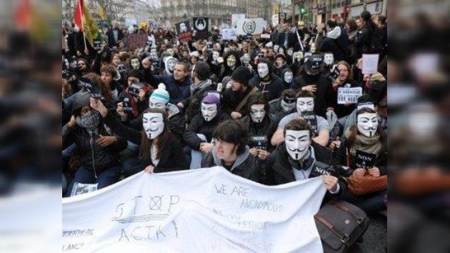 Anonymous introduce 'enmiendas' en la Constitución de Hungría