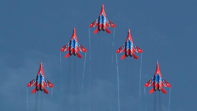 Video, Fotos: Rusia lleva lo mejor de su aviación a la exhibición aérea de Le Bourget