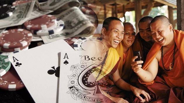 VIDEO: Monjes bebiendo y jugando al póquer consternan a Corea del Sur