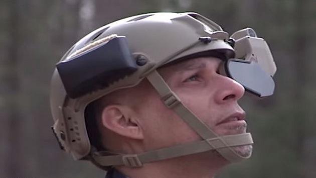 Diseñan casco inteligente al estilo de Google Glass para los soldados estadounidenses
