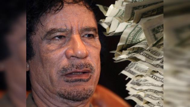 Alemania valora la posibilidad de entregar los activos congelados de Gaddafi a la ONU