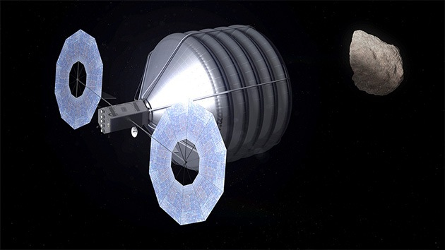La NASA publica el vídeo de cómo capturará un asteroide