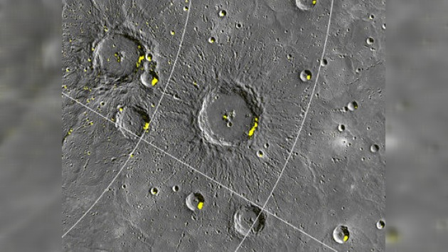 Descubren indicios de la presencia de hielo en Mercurio