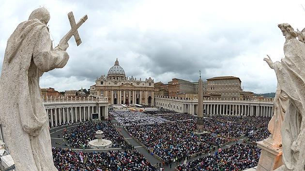 Ceremonia de canonización de Juan XXIII y Juan Pablo II