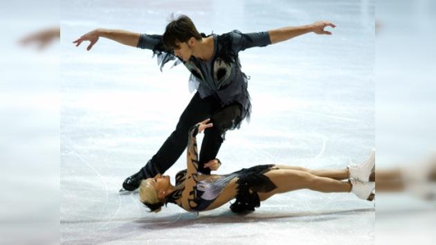 Tres medallas para Rusia en el Grand Prix de patinaje artístico