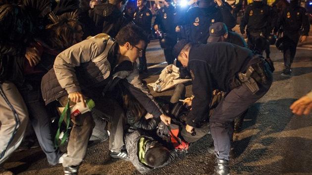 Ya son 62 los detenidos en la huelga de España