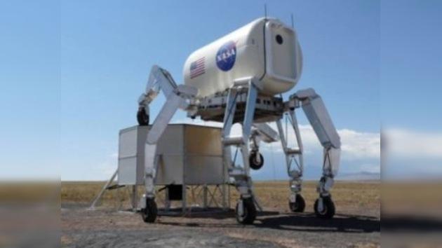 Todoterrenos de seis patas y con visión 3D, nuevos astromóviles de la NASA