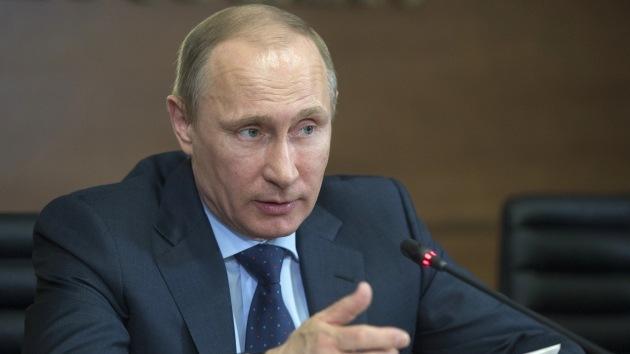 """Putin: """"Las tensiones políticas no deberían afectar nuestra cooperación económica con Ucrania"""""""